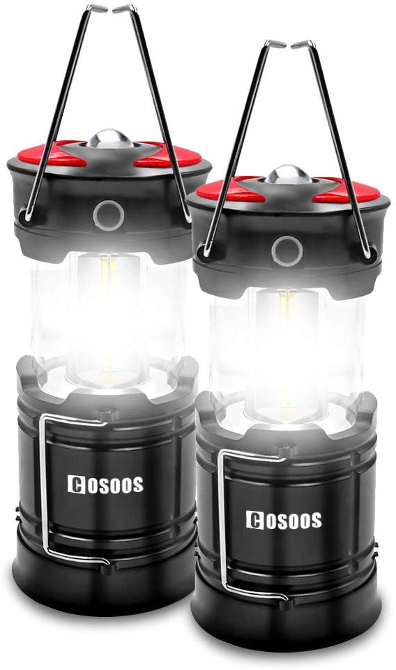 2 Pack Rechargeable Camping Lanterns