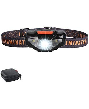 LED Headlamp Flashlight with Carrying Case