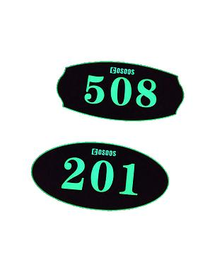COSOOS Luminous house numbers